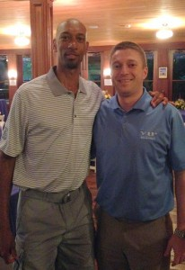 Former NBA Player Kerry Kittles w/ VIP at The Masters